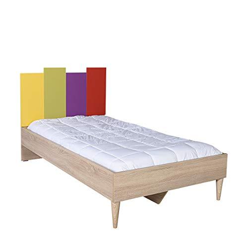 Bed TREESOR 920, 105 x 206 x 106 cm