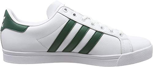 adidas Herren Coast Star Sneaker, Weiß (Footwear White/Collegiate Green/Footwear White 0), 44 2/3 EU
