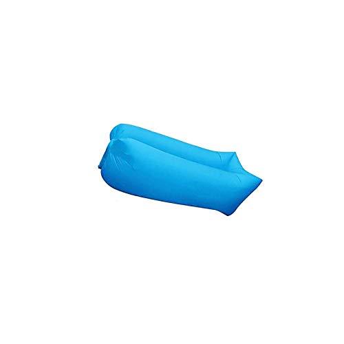 BANGSUN LightBeach - Tumbona hinchable para cama, color negro