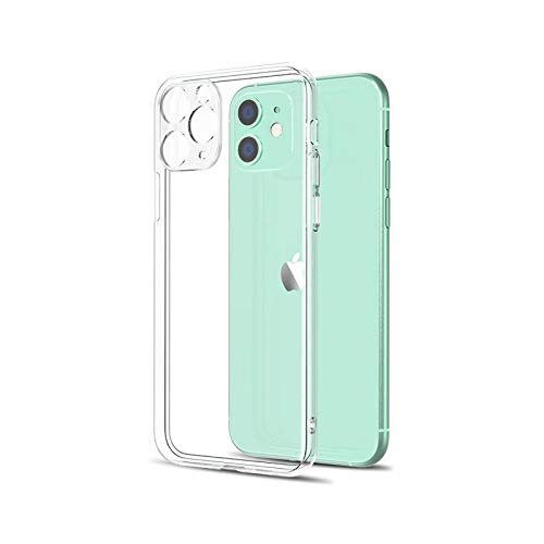 Funda ultra fina transparente para iPhone 11Pro X XR Xs Max Silicona suave Back Cover iPhone 6 6S 7 8 Plus 5 5S SE 2020 11 Case