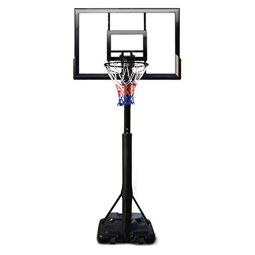 Kids Portable Basketball Hoop Portable Basketball Stand,Children's Indoor Adjustable Basketball Frame for Kids Teens Indoor Outdoor Practice Indoor and Outdoor Fun (Color : Black, Size : One Size)
