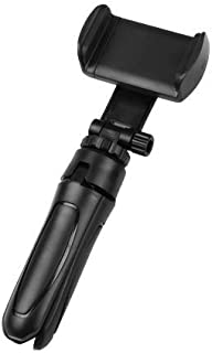 BKN® Mini Tripod with 360 Degree Mobile Attachment Lightweight Portable for Vlog, Video Shooting, Photography, YouTube etc