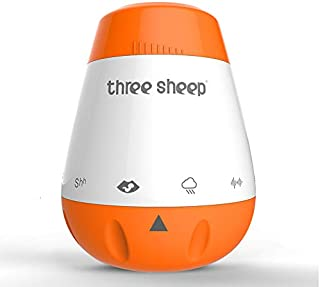 White Noise Machine - Portable Baby Sleep Aid Helper Soothers Shusher - Nature Music Soothing Sound - Sleeping Relaxation Therapy - Ideal Adult Kids Toddler Infant Gift