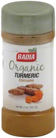 Badia Direct sale of Max 73% OFF manufacturer Organic Turmeric - 2 oz2
