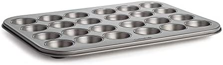 Cooking Light Mini Muffin Cupcake Baking 24 Cup Size Easy to Clean Non Stick Bakeware Heavy product image