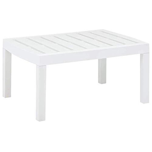 Ipae-Progarden Raya Mesa Auxiliar, Blanco, 30x 30x 30cm