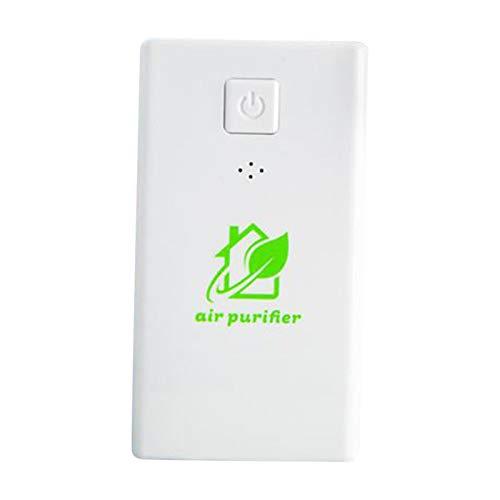 Purificador de aire 2021, purificador de aire de iones negativos, mini hogar creativo, ecológico, multiusos