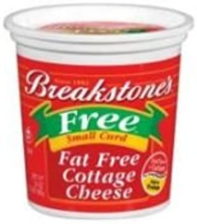 Kraft Breakstones Small Curd Cottage Cheese, 24 Ounce -- 12 per case.