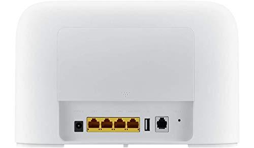 Huawei B715s-23c LTE-Router/LTE-Modem, weiß, 4G++ 3CA LTE LTE-A Kategorie 9 Gigabit WiFi AC 2 x SMA für Externe Antenne B715