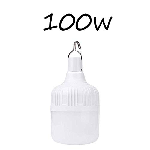 Nightlight Night Lightsoutdoor Bulb Usb Rechargeable Led Emergency Lights Portable Tent Lamp Battery Lantern Bbq Camping Light For Patio/Porch/Garden-100W