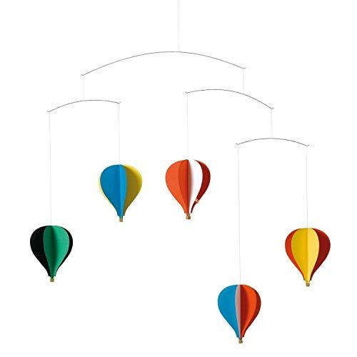 Flensted Mobiles - Ballon/Heißluftballon - Mobile/Windspiel - 5 er - bunt