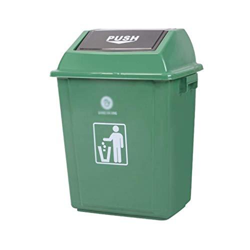 GWFVA Prullenbak, afvalbak, grote capaciteit deodorant voor plastic containers, verdikkingsbak (afmeting: 10 l)