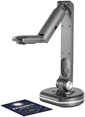 Kstyhome Caméra de documents et scanner de livres USB 2-en-1 V500S avec mise au point automatique 8 mégapixels haute définition Max. Lumière LED de taille de numérisation A3 Compatible avec Mac