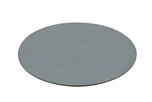 "Pizzacraft PC0307 Round Steel Baking Plate for Oven or BBQ Grill 14"" Diameter"