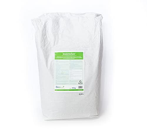InsectoSec® Kieselgur für Hühner   Mittel gegen Rote Vogelmilbe, Schädlinge und Insekten   Milben Stop   Nätürliche Schädlingsbekämpfung ohne synthetische Chemikalien   EU-Biozid-konform (2 Kg)