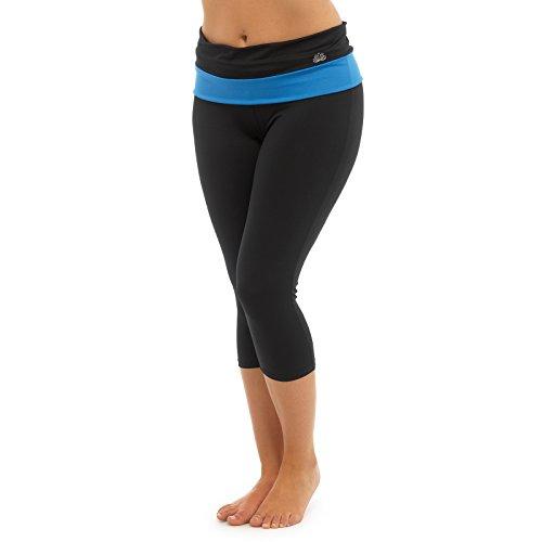 Tom Franks dames 3/4 lengte yoga legging broek Fitness sport hardlopen pilates broek