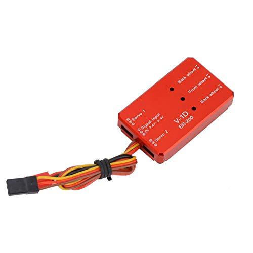 Tomantery Caja de Control del Sistema de retracción roja Aleación Buena compatibilidad...
