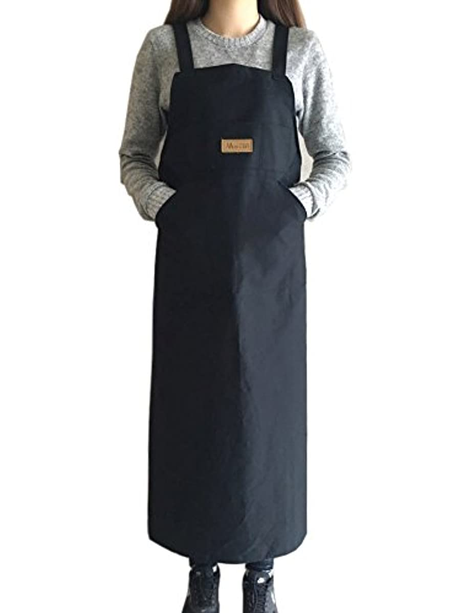 IN n ART Artist apron / Long apron - Navy Blue