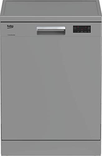 Beko DFN16430S Geschirrspüler Freistehend/A+++ / 237 kWh/Jahr/Schnell-Funktion/Halbe Beladung Funktion/Watersafe+ / Silber