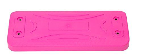 OTITU Just Fun Lux Asiento Columpio de Goma con Placa de Aluminio – Rosa