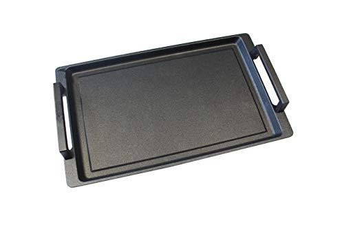 Lieblingspfanne - Teppanyaki mit Seitengriffen 41 x 24cm für alle Herdarten und Backofen