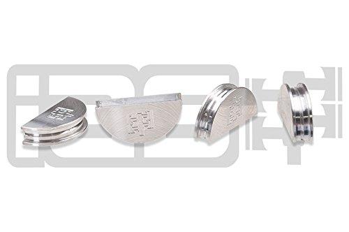 IAG Half Moon Valve Cover Cam Seals 4 Silver Compatible with 02-06 Subaru WRX/STI FXT LGT
