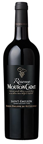 Baron Philippe de Rothschild Mouton Cadet Réserve Saint-Émilion AOC 2017 trocken (0,75 L Flaschen)