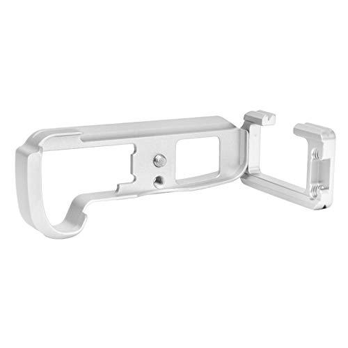 SALUTUYA Placa de liberación rápida en Forma de L, Interfaz de 39 mm, para cámara, para cámara sin Espejo(Silver)