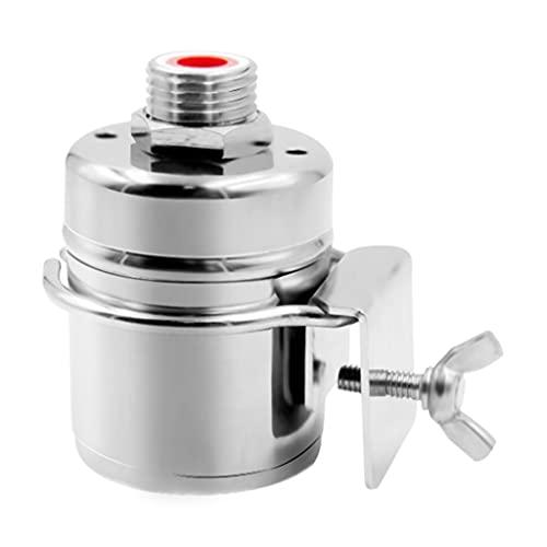 VEILTRON Sensores automáticos de Flujo de Agua, Control de Nivel de Agua, Tanque de Agua, Interruptor de Flotador Tradicional, Mejora (Entrada de Agua Superior)