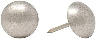 ComfortStyle Premium Grade Upholstery Tacks, Nailhead Decorative Trim for Furniture, 7/16-inch Diameter (200, Pewter Nickel)
