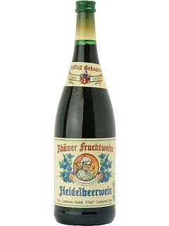 Rhöner Fruchtwein Heidelbeerwein 1,0 L