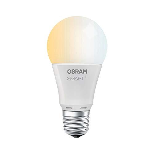 OSRAM Smart+ LED, ZigBee Lampe mit E27 Sockel, warmweiß bis tageslicht (2700K - 6500K), dimmbar, 8,5 W = 60 Watt, 1er Pack