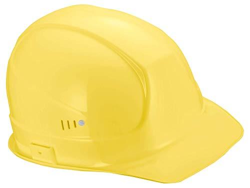 Casco de Obra Superboss | Protección en el Trabajo | Protección de la Cabeza con Excelentes Valores de Amortiguación | Casco de Seguridad con Ventilación