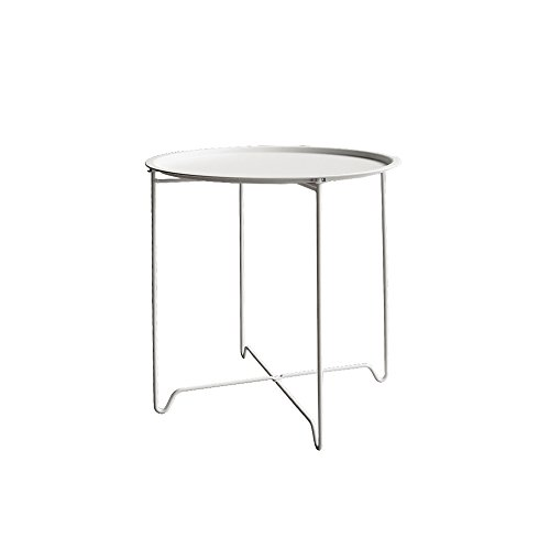 Italian Concept, Good, Tavolino, Bianco, 46 x 46 x 52 cm