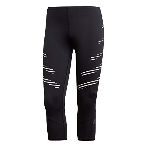 adidas Damen HOW WE DO 3/4th Tights, black/White, S