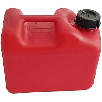 Benzinkanister 5L Kunststoff rot UN-geprüft Reservekanister