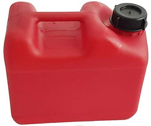 1x 5 Liter CK Kanister rot, UN-Zulassung, Compakt Kanister, extrem Robust, Lebensmittelecht, DIN51, 5l, Wasserkanister, Campingkanister