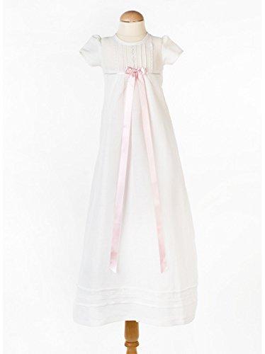 Grace of Sweden - Costume de baptême - Bébé (garçon) 0 à 24 mois blanc cassé no bow 62, 3-6 months, chest 18 in.