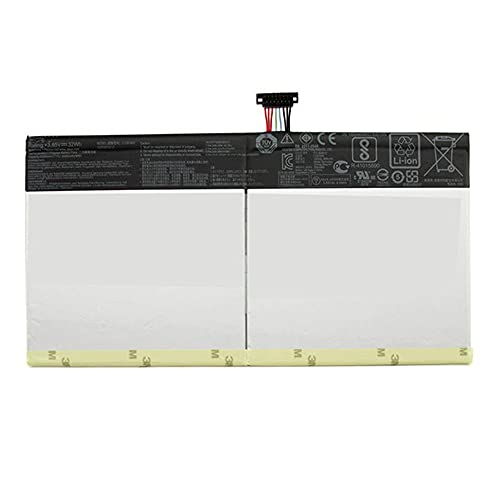 Batería de repuesto para Asus Transformer Book T101HA T101HA-3D T101HA-3E T101HA-3K T101HA-3K T101HA-GR001T Series Tablet 0B200-02120000