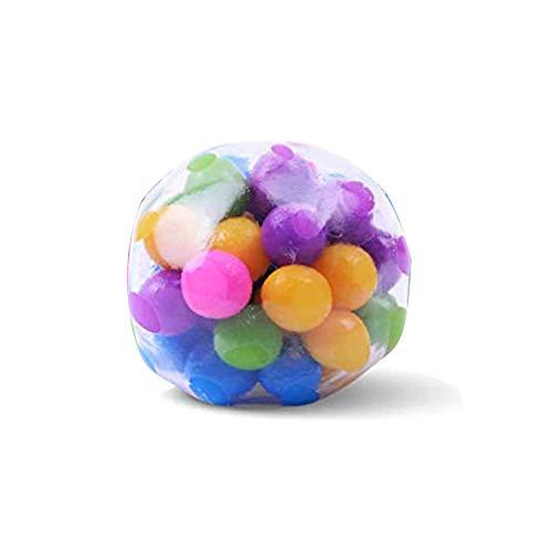Chilits 1 Stück Stressball Anti-Stress-Ball - Sensory Fidget Toy - Antistressball Anti Stress Knetball Spielzeug - Stressabbau Squeeze Ball Für Kinder Erwachsene