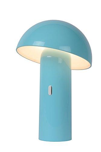 Lucide FUNGO - Tischlampe - Ø 16,5 cm - LED Dim. - 1x7,5W 3000K - Pastellblau