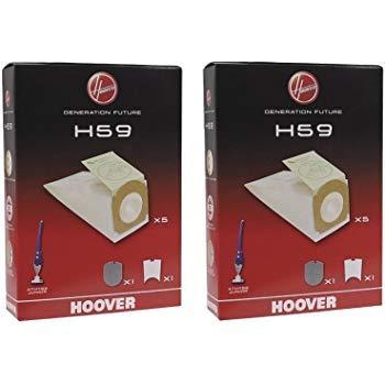 2 CONFEZIONI SACCHETTI ORIGINALI HOOVER ATHYSS H59