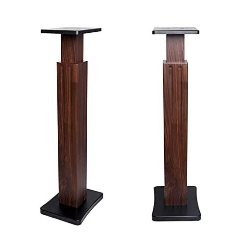 Soporte de altavoz Soporte de caja de sonido Soporte de piso universal Soportes de ala altura de altura Ajustable para el sonido envolvente Puede soportar el 99 por ciento de los altavoces en el merca