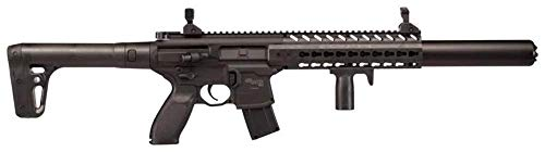 Sig Sauer MCX-177-BLK MCX Airgun Pellet Rifle .177Cal 88gr CO2, 30rd