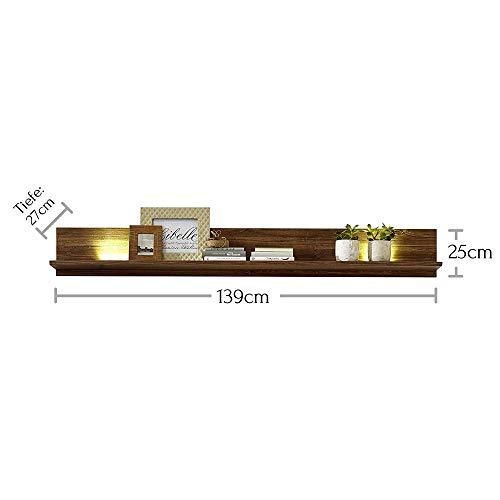 Peter GTCC901041 Wandboard, Holz, braun, 27 x 139 x 25 cm - 6