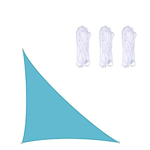 YPYGYB Toldo Vela De Sombra Impermeable, Velas De Sombra para Patio Transpirable Aislamiento De Calor, Protección Rayos UV para Patio Exteriores Jardín,C-3x4x5M
