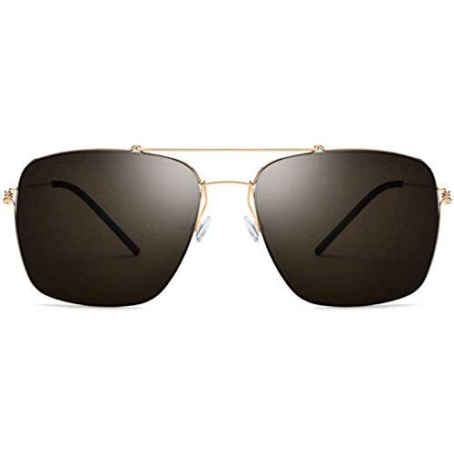 ZHANG Sunglasses Ultralight Men's Frameless Driving Mirror Cool Women Big Frame Square Sunglasses Women UV400