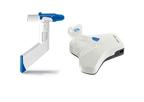 RC-Cornet® PLUS NASAL Inhalator Starter-Set mit belAir® Kompressor, belAir® Vernebler, Atemtherapie, Inhalation