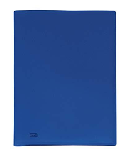 Favorit Portalistino, Formato Interno 22 x 30 cm, 100 Buste, Blu