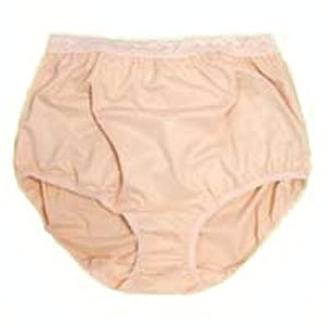 Options Ostomy Support Barrier Inc 8080001Mr Options Ladies' Basic With Built-In Barrier/Support, Soft Pink, Right-Side Stoma, Medium 6-7, Hips 37
